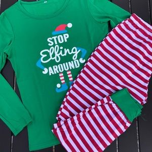 Christmas Pajamas Size Small